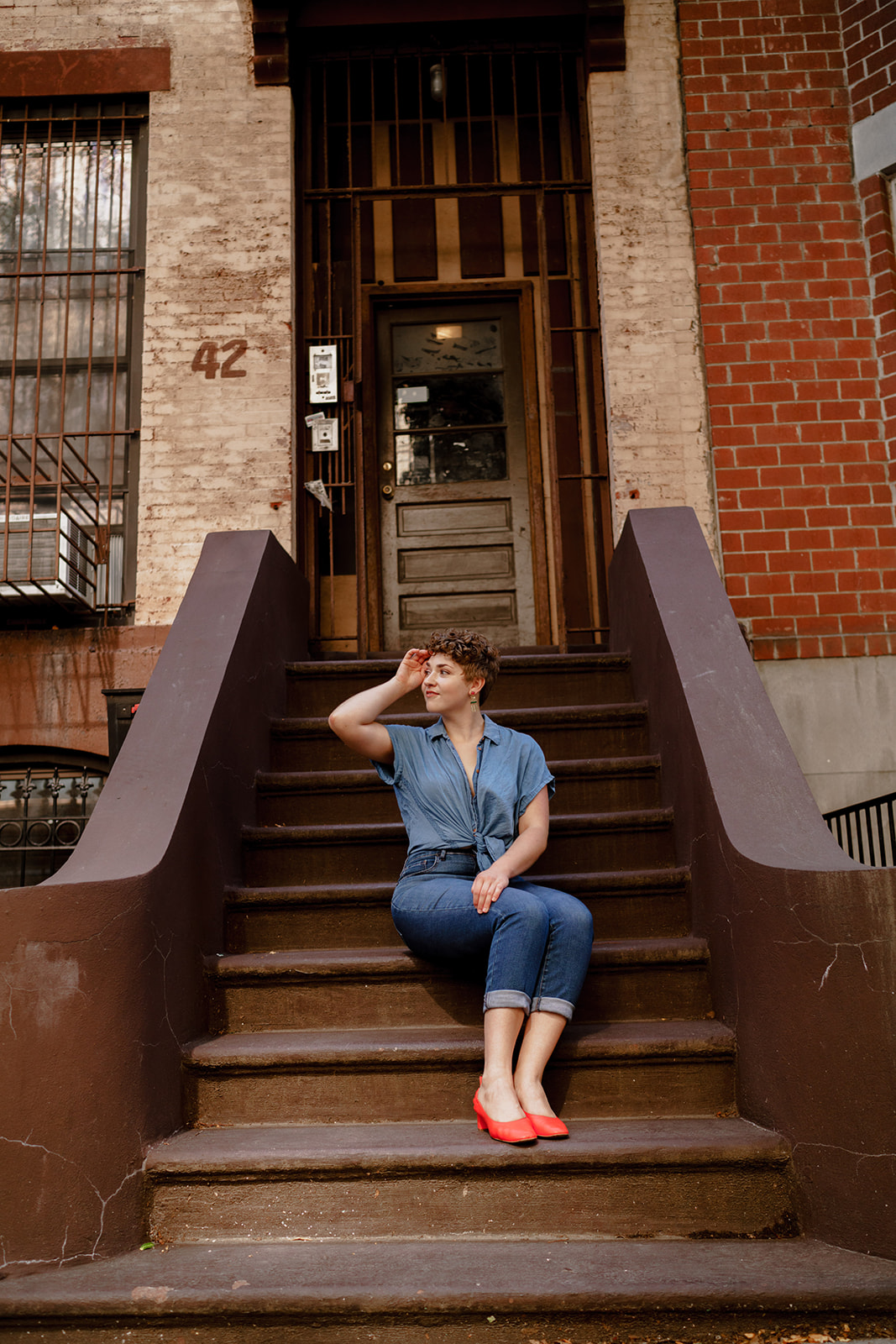 New York City. Brooklyn. Portrait photography.